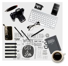 """""""What's on My Desk?"""" by lacas ❤ liked on Polyvore featuring interior, interiors, interior design, home, home decor, interior decorating, Topshop, ZeroUV, Playsam and Givenchy"""