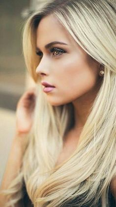 Most Beautiful Faces, Beautiful Eyes, Gorgeous Women, Girl Face, Woman Face, Bride Hairstyles, Cool Hairstyles, Looks Pinterest, Gorgeous Blonde