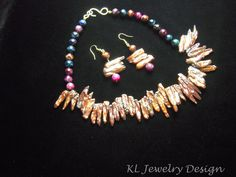 Barking Mad for Pearls Necklace and Earrings Set is going up for auction at  2pm Wed, Jun 27 with a starting bid of $45.