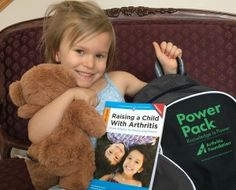 Free Power Pack for children and teens with #JuvenileArthritis from the Arthritis Foundation