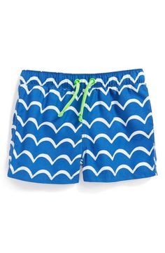 Little man will be summer ready in these swim shorts!