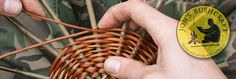 Weaving a wicker basket; the most comprehensive basket tutorial on the internet- jonsbushcraft.com
