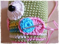Fizule71: Háčkovaná sovička Friendship Bracelets, Crochet Earrings, Tatoo, Friend Bracelets