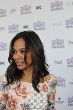 """Zoe Saldana - I remember thinking you were such a badass in """"Center Stage"""". Hair Inspo, Hair Inspiration, Remy Hair Extensions, Cute Cuts, Zoe Saldana, About Hair, Cute Hairstyles, Her Hair, Bridal Hair"""