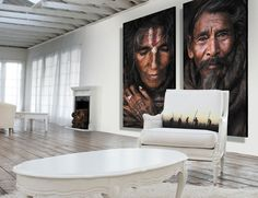 http://www.niahome.com/impressive-wallpaper-for-living-room-decoration/indian-big-posters-with-classic-loft-style/