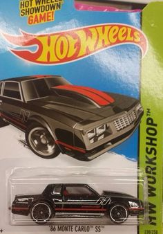 Custom Hot Wheels, Hot Wheels Cars, Carros Hot Wheels, Chevy Monte Carlo, Collectible Cars, Matchbox Cars, Diecast Model Cars, Rc Cars, Cool Toys