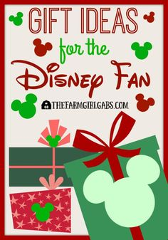 Gift guide for the Disney fan in your life - Suggestions and tips where to buy the gifts every Disney fan would love to receive