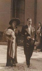 GRAND DUKE WLADIMIR KYRILLOVICH ROMANOV AND HER WIFE LEONIDA BAGRATION