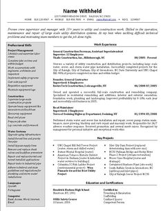 20 Best Resume Formats For Experienced | Resume Template Ideas