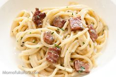 If you haven't had REAL carbonara (no cream!!), you need to do it now.  Do it. Dooo it. Look up Rachael Ray's recipe... It's my favorite.