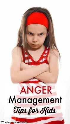 Positive anger management skills for kids #parenting