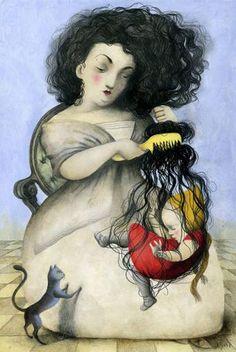 Ilustracion_Ana_Juan.......M and Rose>.