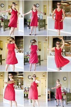 @KathEats twirling in our Elusive Dress