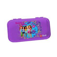 LEGO® Friends Minifigure & Brick Storage Case, WPS-CC, Trans Violet (397328)