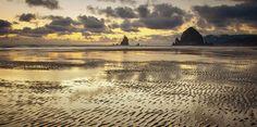 Undulating Sands Meet The Sky Photograph by Don Schwartz