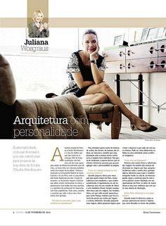 Retrato da arquiteta Cláudia Wendhausen para entrevista - Diário Catarinense - 16/02/14. Florianópolis-SC/Brasil. Foto © Mariana Boro - A CASAA