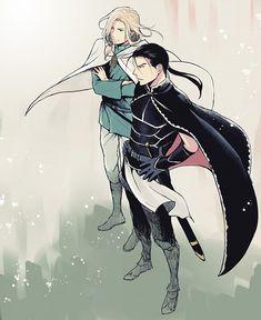 Arslan Senki | The Heroic Legend of Arslan | Daryun & Narsus | Anime | Fanart | SailorMeowMeow