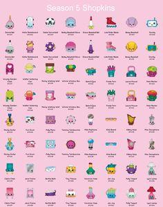 Shopkins Season 1 Complete Checklist Collectors Guide