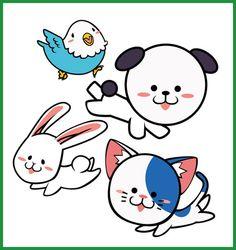 (1) qlaboさんの提案 - 春日丘動物病院(犬、猫、うさぎ、小鳥)のキャラクターデザイン | クラウドソーシング「ランサーズ」