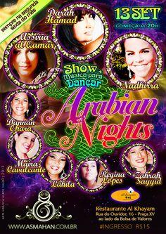 Shows & Eventos :: Dança do Ventre e Dança Tribal - Dança do Ventre na ASMAHAN Escola de Artes Orientais | Dança do Ventre na ASMAHAN Escola de Artes Orientais