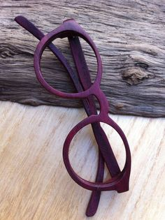 THANKS handmade purple wood wooden eyeglasses glasses by TAKEMOTO