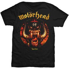 Motorhead Men's Tee: Sacrifice Wholesale Ref:MHEADTEE31MB