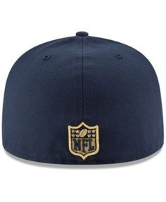 New Era Los Angeles Rams Team Basic 59FIFTY Fitted Cap - Navy/Navy 7 1/2