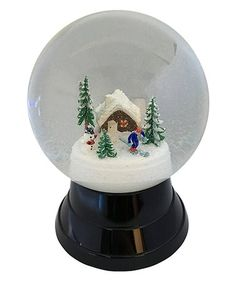 Royal Lion Cufflinks Christmas Snow Couple Snow Men Round