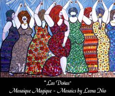 Mosaics by Leena Nio - Las Doñas