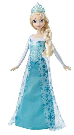 Sold out in most stores. #FROZEN http://www.ebay.com/itm/Frozen-ELSA-Doll-Sparkle-Dress-Fancy-Classic-Princess-Of-Arendelle-Disney-/151484435514?pt=TV_Movie_Character_Toys_US&hash=item23452d0c3a