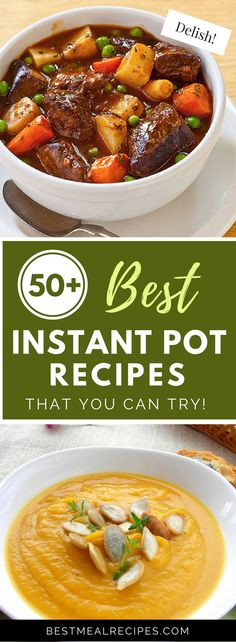Easy + healthy + delish? Get your grub on! Take a pick from our collection of the best instant pot recipes. You'll never regret going the healthy way. See it here: http://bestmealrecipes.com/2017/02/26/50-best-instant-pot-recipes-that-you-can-try/