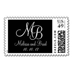 >>>Best          Black and White Monograms Wedding Postage           Black and White Monograms Wedding Postage online after you search a lot for where to buyDeals          Black and White Monograms Wedding Postage lowest price Fast Shipping and save your money Now!!...Cleck Hot Deals >>> http://www.zazzle.com/black_and_white_monograms_wedding_postage-172796130032271782?rf=238627982471231924&zbar=1&tc=terrest