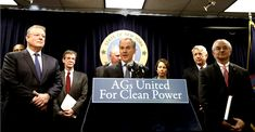 16 Democrat AGs Begin Inquisition Against 'Climate Change Disbelievers' big you believe in your freedom you need to vote these power grabbers out.  They want no debate.