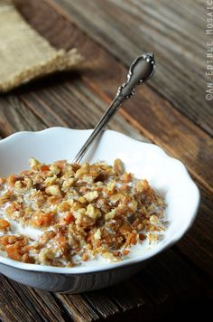 Carrot Cake Oatmeal Recipe