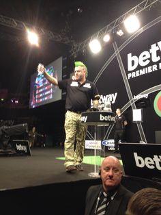 Premier League Darts Belfast 2015 Professional Darts, Peter Wright, Belfast, Premier League, Wrestling, Eye, Sports, Lucha Libre, Hs Sports