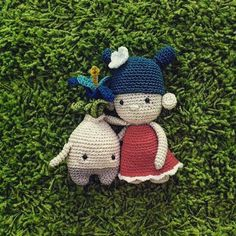Goodbye! pattern by @lalylaland and @amourfou_crochet #handmade #crochet #crafts #amourfoucrochet #lalylala #flower #friends #berlin