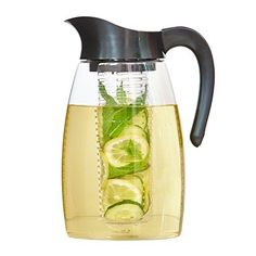 The Republic Of Tea Double Infusion Iced Tea Pitcher, Bpa Free, Dishwasher Safe, Shatterproof, Stain-Resistant -- You can get more details by clicking on the image. (This is an affiliate link) Iced Tea Pitcher, Ginger Peach, Matcha Green Tea Powder, Oolong Tea, Tea Gifts, Tea Infuser, The Republic, Sweet Tea, Drinking Tea