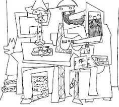 Three Musicians By Pablo Picasso coloring page from Pablo Picasso category. Select from 29298 printable crafts of cartoons, nature, animals, Bible and many more. Pablo Picasso, Picasso Kids, Art Picasso, Colouring Pages, Coloring Books, Free Coloring, Art Sub Plans, Easy Flower Painting, Ecole Art