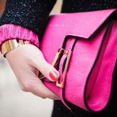 nothing teenie bopper about this pink and black combo