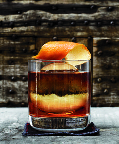 Old Fashioned.  Reminds me of Hilltop Kitchen with the giant, handcut ice sphere.