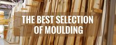 Complete your remodeling project with decorative moulding!