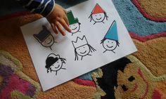 Frühe Bildung? Kinderleicht!: Einfaches Legespiel zum Thema Formen