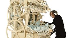 "Get the audio track ""Marble Machine"" by Wintergatan: https://wintergatan.bandcamp.com/track/marble-machine  Marble Machine built and composed by Martin Molin Video filmed and edited by Hannes Knutsson   Costume designed by Angelique Nagtegaal  Swedish band Wintergatan will play live concerts starting from summer 2016.   www.wintergatan.net"