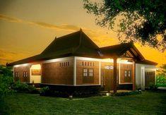 45 Desain Rumah Joglo Khas Jawa Tengah | Desainrumahnya.com Gazebo Pergola, Home Fashion, Bohemian Style, Cabin, House Design, Mansions, House Styles, Interior, Inspiration