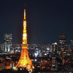夜景:東京タワー  tokyo tower Japan nitgt illumination