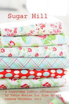 Sugar Hill by Tanya Whelan!!  Oh... How I love it!