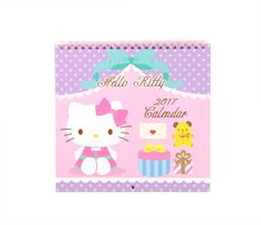 Hello Kitty Wall Calendar: 2017
