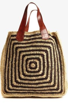 african straw totes