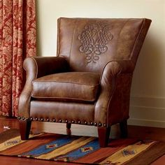 Trapunto Croco Chair King Ranch I Really Like This One Southwestern Home Decor Saddle