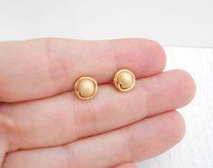 Gold Earrings Models, Cute Stud Earrings, Baby Earrings, Gold Bangles Design, Gold Earrings Designs, Gold Jewelry Simple, Silver Jewellery Indian, Gold Studs, Summer Sale
